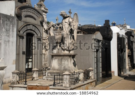 stock-photo-old-mausoleums-in-the-famous