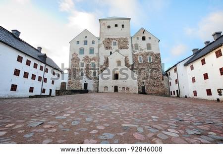 Old medieval castle of Turku, Finland