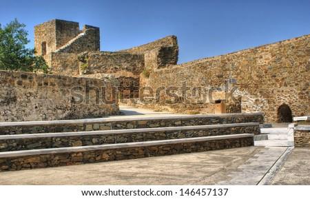 Old Mertola castle in Alentejo, Portugal