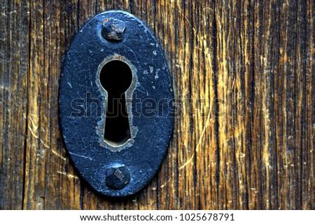 Old Metal Lock Foto stock ©