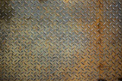 Old metal sheet board background.