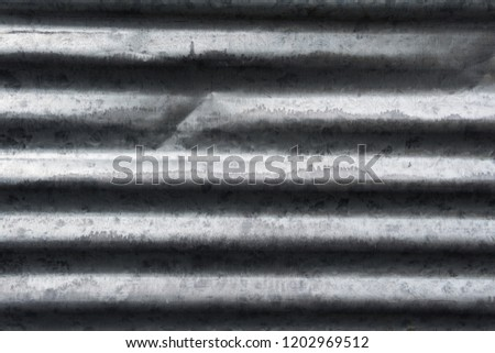 Old metal sheet roof texture. Pattern of old metal sheet. Metal sheet texture. Rusty metal sheet texture.for background.
