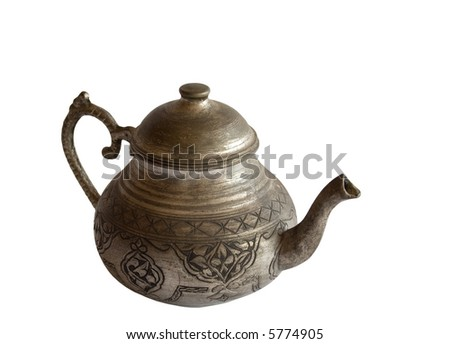 Old Metallic Tea Pot