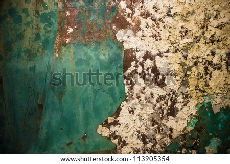 old metallic texture