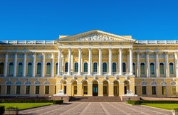 Old Michael Palace (Russian Museum) in Saint Petersburg