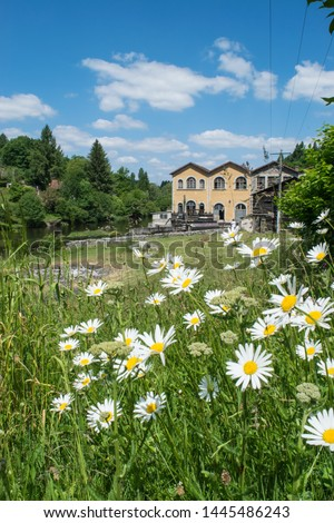 Old mill house in the Limousin, France #1445486243