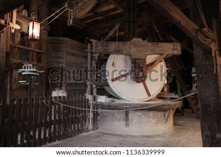 old millstones  vintage farming ...