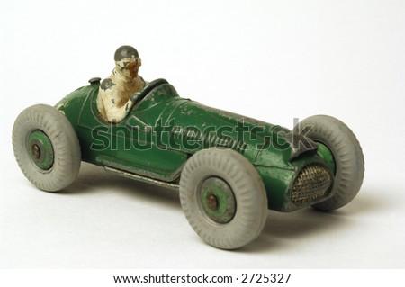old miniature  race car