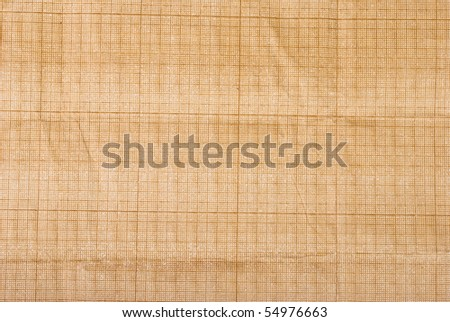 Old mm-paper - stock photo