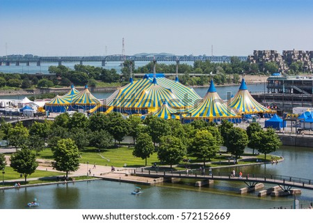 old montreal cirque du soleil Photo stock ©