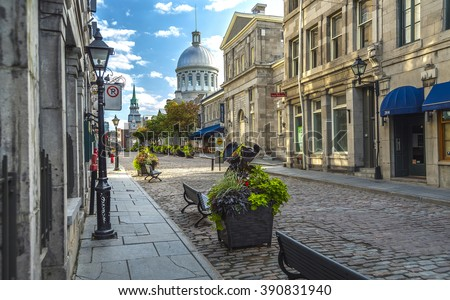 old montreal early morning...