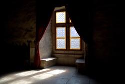 Old mystic window