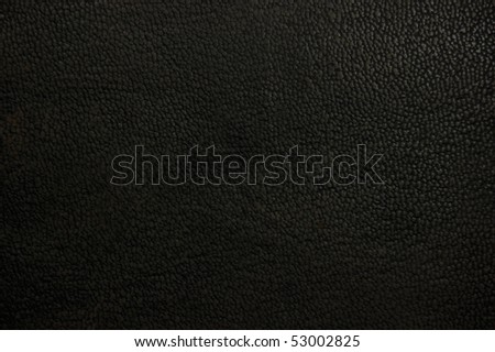 Old natural dark brown black grunge grungy leather texture rustic background, macro closeup