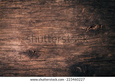 Old natural wooden shabby background close up #223460227
