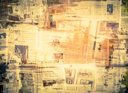 OLD NEWSPAPER BACKGROUND