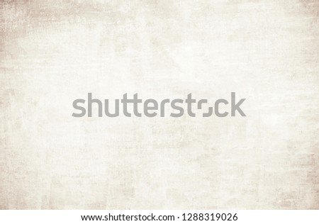 OLD NEWSPAPER BACKGROUND, BLANK PAPER TEXTURE, SPACE FOR TEXT #1288319026