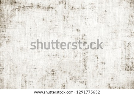 OLD NEWSPAPER BACKGROUND, GRUNGE PAPER TEXTURE, SCRATCHED PATTERN #1291775632