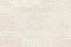 OLD NEWSPAPER BACKGROUND, VINTAGE WHITE GRUNGE PAPER TEXTURE, RIPPED TEXTURED WALLPAPER DESIGN, BLANK SPACE FOR TEXT