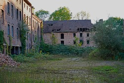 old official residence in the complex of Boellberger Millin Halle Saale