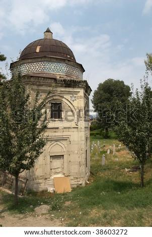 Old ottoman tomb (Turbe Alti Ajak) in Skopje Zdjęcia stock ©