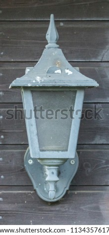 Old outdoor lamp #1134357617
