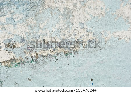 old paint texture peeling off concrete wall background