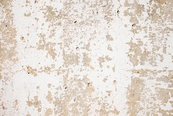 Old painted concrete wall as background