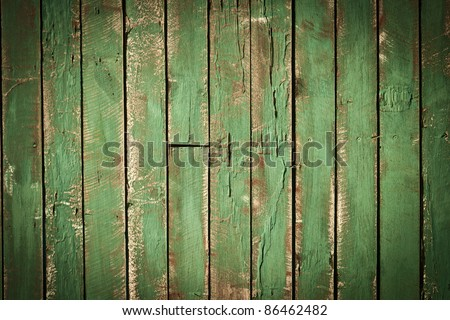 old painted wall - stock photo