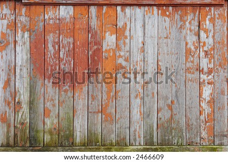 Old painted wood - texture, background