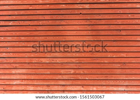 Old painted wood wall / planks - texture or background