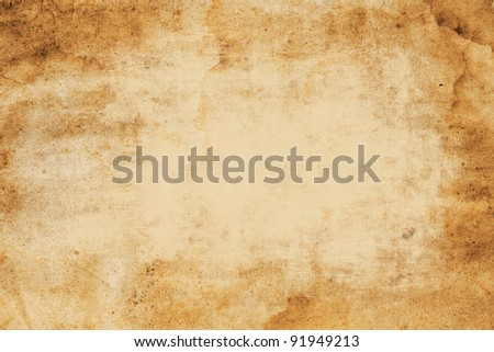old paper background  with space for text Stock photo ©