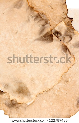 Old paper close up - stock photo