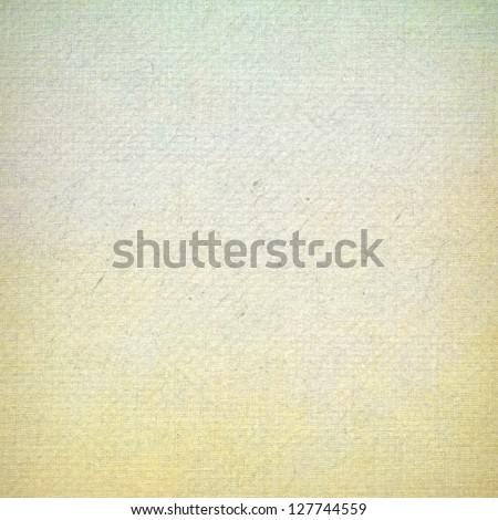 old paper grunge background with abstract canvas texture and blue sky view