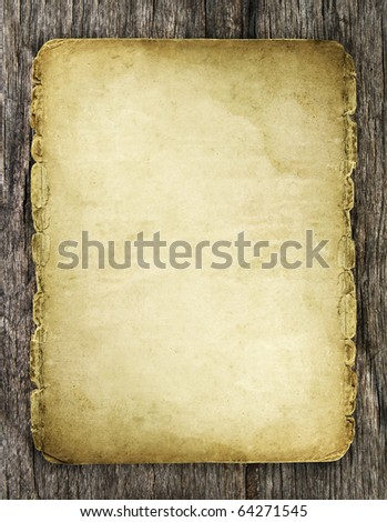 old paper on wood texture with natural patterns