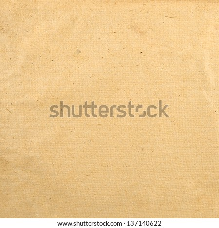Old paper texture as abstract background front view - stock photo