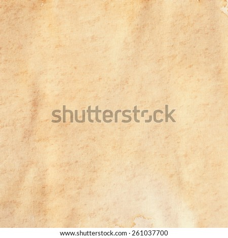 Old Paper Texture. Background - Shutterstock ID 261037700