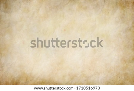 Old paper texture background, vintage retro newspaper empty blank space page with grunge stain line pattern for text creative, backdrop, wallpaper and any design Stock photo ©