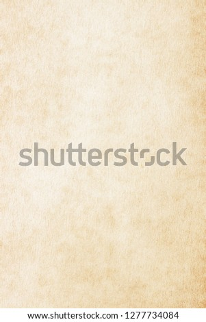 Old Paper texture. vintage paper background or texture; brown paper texture #1277734084