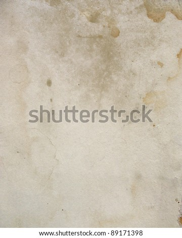 Old paper texture with age marks