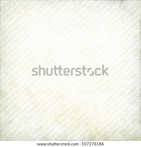 old paper texture with delicate oblique stripes as grunge background - stock photo