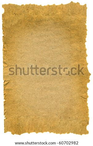 old paper texture with natural patterns . isolated - stock photo