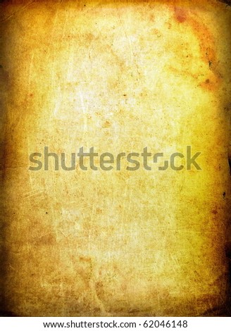 Old paper, textures - stock photo