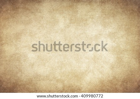 old paper with space for text - Shutterstock ID 409980772