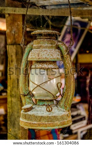 Old Paraffin lamp