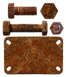old parts of iron