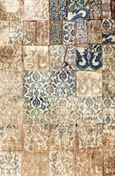 old paving tile
