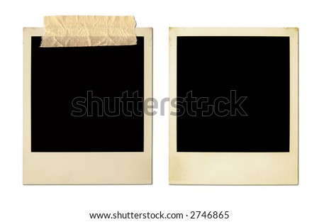 Old Photo Frames (XXL) - stock photo
