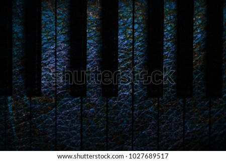 Old piano vintage background #1027689517