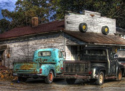 Old Pick up trucks