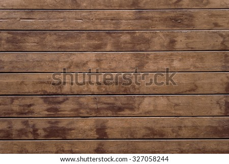 Old Plank Wooden Wall Background Dark Brown Scratched Cutting Board Wood Texture